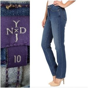 Not Your Daughter's Jean's Sheri Slim Fit Size 10